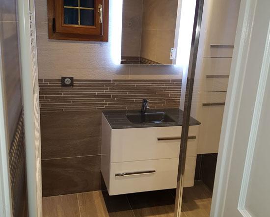 Aménagement de salle de bain à Beauvais
