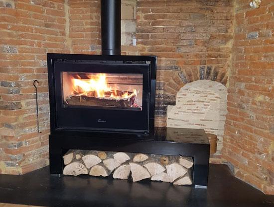 Installation de poêle à bois à Beauvais